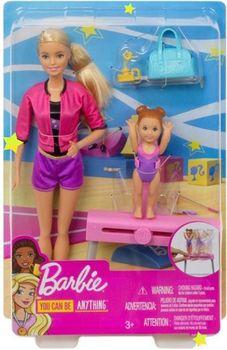 "Кукла Barbie ""Веселая гимнастика"" серии Профессии, код FXP37"