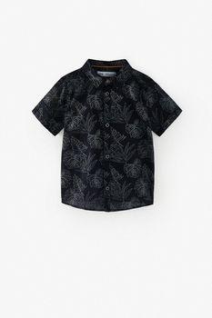 Bluza ZARA Negru cu imprimeu 6887/675/800