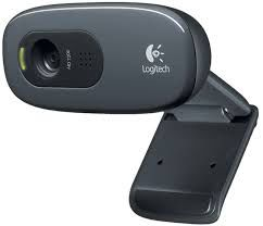 Logitech HD Webcam C270, Microphone, HD 720p video calls & recording, 3 Megapixel images,USB 2.0