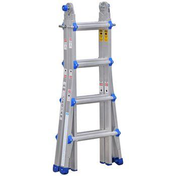 купить Шарнирная телескопическая лестница (4х4ст) FL46 в Кишинёве