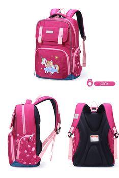купить Ортопедический рюкзак для детей Aoking B7112, большая емкость, светоотражающие полосы в Кишинёве