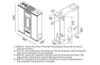 Печь пеллетная - PETRA 11 кВт