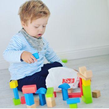 купить Hape Деревянная игрушка Кубики в Кишинёве