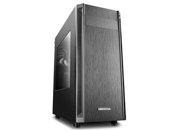 купить Case ATX Deepcool D-SHIELD V2, w/o PSU, 1x120mm, Magnetic dust filter, Cable Managem, USB3.0, Black в Кишинёве