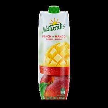 Naturalis напиток персик-манго 1 Л