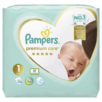 cumpără Pampers (1) SMP Premium Care New Baby 26 în Chișinău