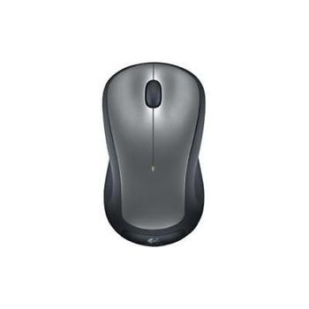 Logitech Wireless Mouse M310 Silver, Laser Mouse for Notebooks, Nano receiver, Dark-Grey / Black,  Retail