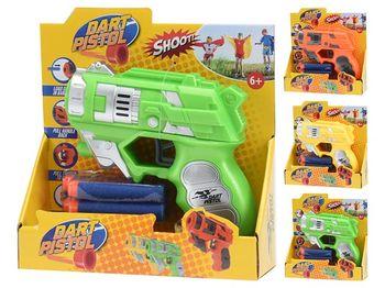 Пистолет коcмический c 4 мягкими пулями, 13cm