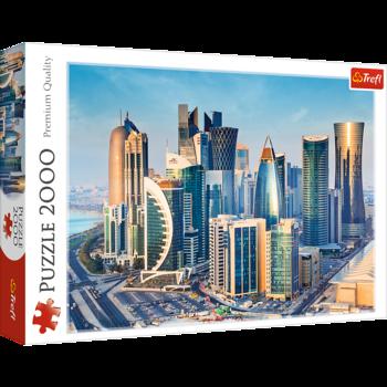 """Puzzle """"2000 - Doha, Qatar"""", cod 40550"""