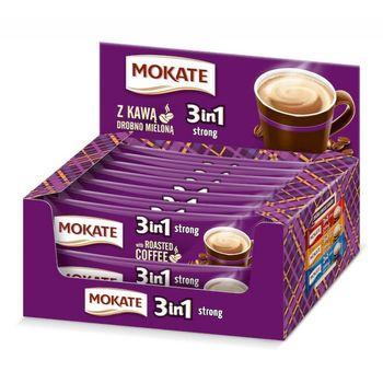 Кофе Mokate 3 в 1 Strong 24*17гр крепкий