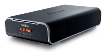 HDD TrekStor 320Gb External DataStation maxi z.ul, 7200 rpm, Autosense 10/100 Base-T RJ45 Ethernet, USB 2.0