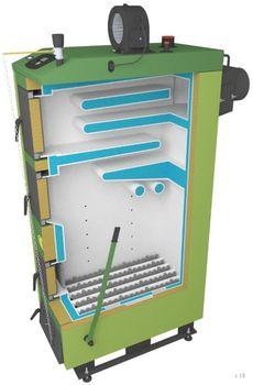 купить Твердотопливный котёл SAS UWT 100 кВт в Кишинёве