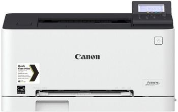Printer Color Canon i-Sensys LBP-613CDW, Duplex,Net, A4, 18ppm, 1GB, 1200x1200dpi, 60-176г/м2, 250+50 sheet tray, 5 Line LCD, UFRII, Max. 30k pages per month, Cart 045HBk/045Bk  (2800/1400 pages 5%) & 045HC/M/Y/045C/M/Y (2200/1300 pages 5%)