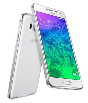 Samsung Galaxy Alpha G850F, White
