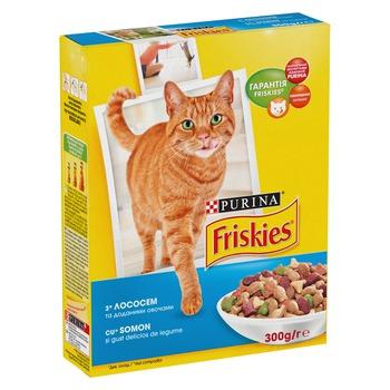 купить FRISKIES  Adult (с лососем и овощами) 1кг в Кишинёве
