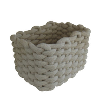 cumpără Coş din cordon 200x160x140 mm, alb în Chișinău