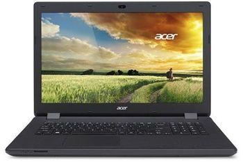 """ACER Aspire ES1-732 Black (NX.GH4EU.007) 17.3"""" HD+ (Intel® Celeron® Dual Core N3350 up to 2.40GHz (Apollo Lake), 4Gb DDR3 RAM, 500Gb HDD, Intel® HD Graphics 500, DVDRW, CardReader, WiFi-AC/BT, 3cell, 0.3MP CrystalEye Webcam, RUS, Linux, 2.8kg)"""