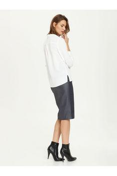 Блуза TOP SECRET Слоновая кость SKL1909BI