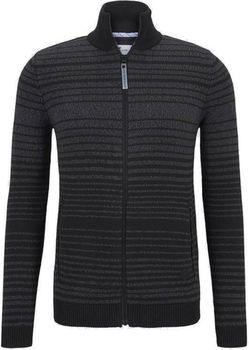 Трикотаж Tom Tailor Черно-серый в клетку tom tailor 1015186