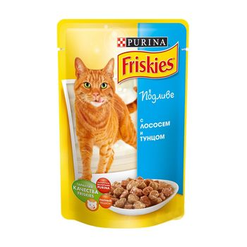 купить Friskies Adult (лосось в подливе), 85гр в Кишинёве
