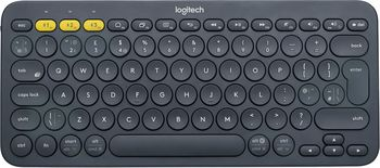 Logitech Bluetooth K380 Multi-Device Keyboard, Dark Grey