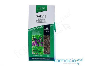 купить Salvie frunze Natural100% 50g (Doctor farm) (TVA20%) в Кишинёве