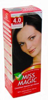 Vopsea p/u păr, SOLVEX Miss Magic, 90 ml., 4.0 - Castaniu natural