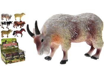"""Игрушка """"Животные"""" 9.5X6.7X4.2cm,6 видов"""