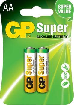 купить Батарейка GP 1.5V Super 15A-2UE2   (15A-U2)   (2 шт.блистер) в Кишинёве