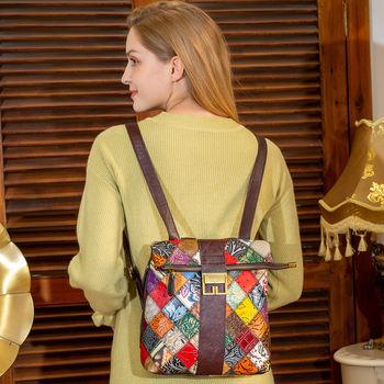 cumpără Rucsac la modă feminin, original, din piele naturala. în Chișinău