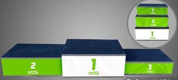 купить Пьедестал 1-2-3 место (с лого SPORTER) в Кишинёве