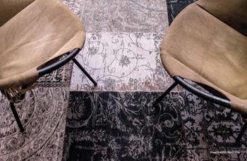 купить Ковёр ручной работы LOUIS DE POORTERE Vintage Black & White 8101 в Кишинёве