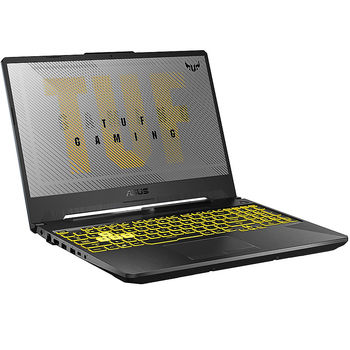 "Laptop 15.6"" ASUS TUF Gaming FA506IU, AMD Ryzen 5 4600H 8-Cores 3.0-4.0GHz/8GB DDR4/M.2 NVMe 512GB SSD/GeForce GTX1660Ti 6GB GDDR6/WiFi 802.11AC/BT5.0/USB Type C/HDMI/Webcam HD/Backlit RGB Keyboard/15.6"" FHD IPS LED-backlit 144Hz (1920x1080)/NoOS FA506IU-HN200"