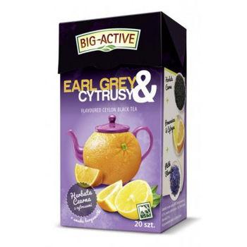 купить Чай черный  Big Active with Earl Grey & Citrus, 20 шт в Кишинёве