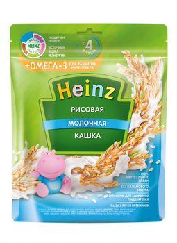 купить Каша Heinz Омега3 рисовая с молоком, с 4месяцев, 200г в Кишинёве