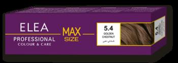 Краска для волос,SOLVEX Elea Max, 100 мл., 5.4 - Золотой каштан