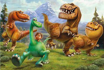 "16282 Trefl Puzzle - ""100"" - Let's trek / Disney The Good Dinosaur"