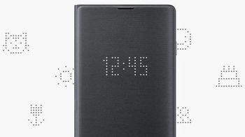 купить Чехол Samsung Galaxy S10 (EF-NG973) LED View Cover Black в Кишинёве