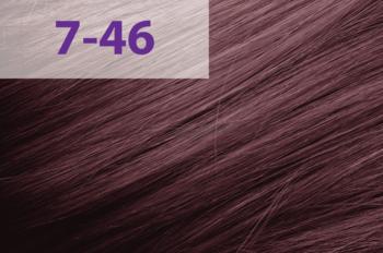 Краска для волос,ACME jNowa Siena CS, 90 мл., 7/46 - красно-фиолетовый тёмный блонд