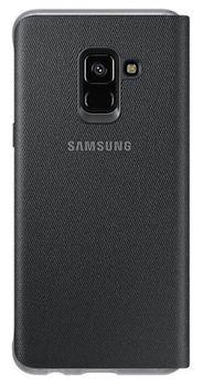 cumpără Husă telefon Samsung EF-FA730, Galaxy A8+ 2018, Neon Flip Cover, Black în Chișinău