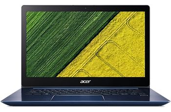 "ACER Swift 3 Stellar Blue (NX.GXZEU.015), 14.0"" IPS FullHD + Win10 (Intel® Core™ i3-8130U 3.40GHz (Kaby Lake), 8GB DDR4 RAM, 256Gb SSD, Intel® UHD Graphics 620, CardReader, WiFi-AC/BT, 4cell, HD Webcam, RUS, Win10, 1.45 qkg, 17.95mm)"