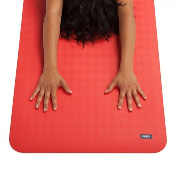 Mat pentru yoga  Bodhi ECO PRO RED 4MM