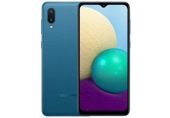 купить Samsung Galaxy A02 2/32Gb Duos ( A22 ), Blue в Кишинёве