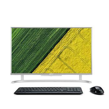 """All-in-One PC - 21.5""""  ACER Aspire C22-760 FullHD (DQ.B8WME.003) Intel® Core® i3-7100U 2,4GHz, 8GB DDR4 RAM, 1TB HDD, no ODD, Card Reader, Intel® HD 620 Graphics, HD webcam, Wi-Fi-AC/BT4.0, GigaLAN, 65W PSU, FreeDOS, USB KB/MS, Silver"""