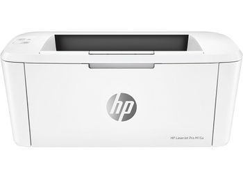 HP LaserJet PRO M15a Printer,  A4, 600 dpi, up to 18 ppm, 8MB, Up to 8000 pages/month, USB 2.0, PCLmS, URF, PWG, CF244A Cartridge (~1000 pages) Starter ~500pages