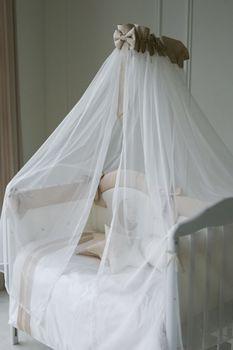 купить Балдахин для кроватки Special Baby Sofia ivory в Кишинёве