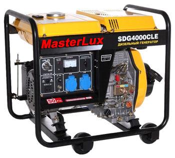 купить Генератор MasterLux SDG4000CLE (электростартер) в Кишинёве