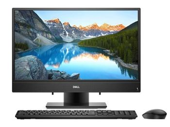 "AIl-in-One PC - 23,8"" DELL Inspiron 3477 FHD IPS +W10Pro, Intel® Core® i3-7100U (Dual Core, 2.40GHz, 3MB), 4GB DDR4 RAM, 1TB HDD, no ODD, Intel® HD Graphics 620, HD Webcam, Wi-Fi-AC/BT4.0, KM636 Wireless KB&MS, Win10 Pro, McAfee 15 Months, Black"