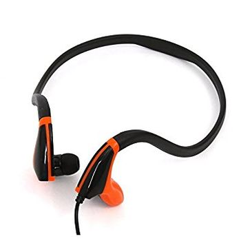 Freestyle FH1019BO  In-ear earphones + mic sport, black/orange[42442]