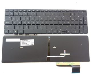 "Keyboard HP Envy M6-K w/backlit w/o frame ""ENTER""-small ENG. Black"